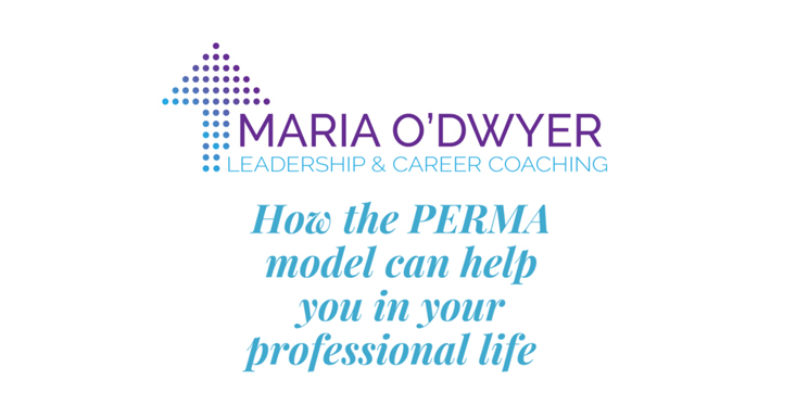 How the PERMA model can help you in your professional life